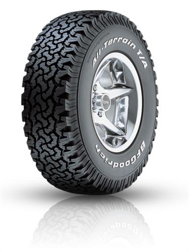 BF Goodrich All-Terrain T/A KO LT245/75R16/10 tires