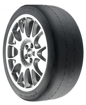 BF Goodrich g-Force R1 P335/30ZR18/LL tires