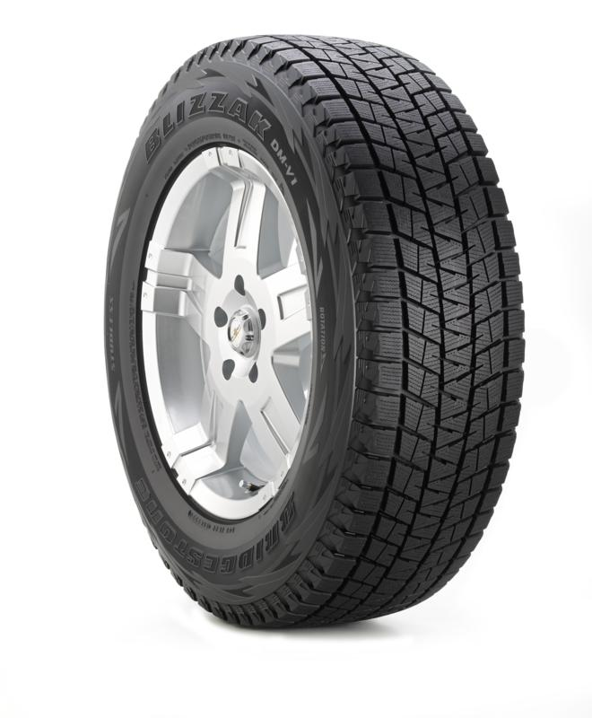 Bridgestone Blizzak DM-V1 225/65R17 tires