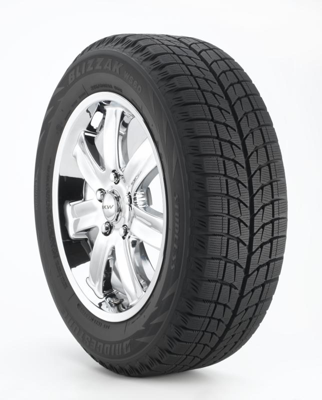 Bridgestone Blizzak WS60 175/65R14XL tires
