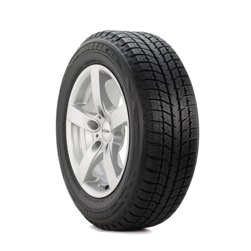 Bridgestone Blizzak WS70 205/50R17XL tires