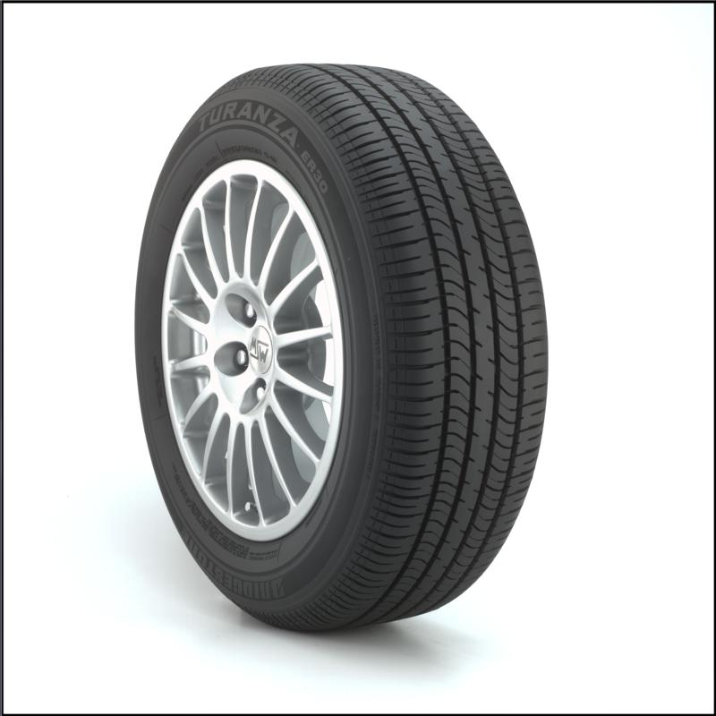 Bridgestone Turanza ER30 255/55R18XL tires