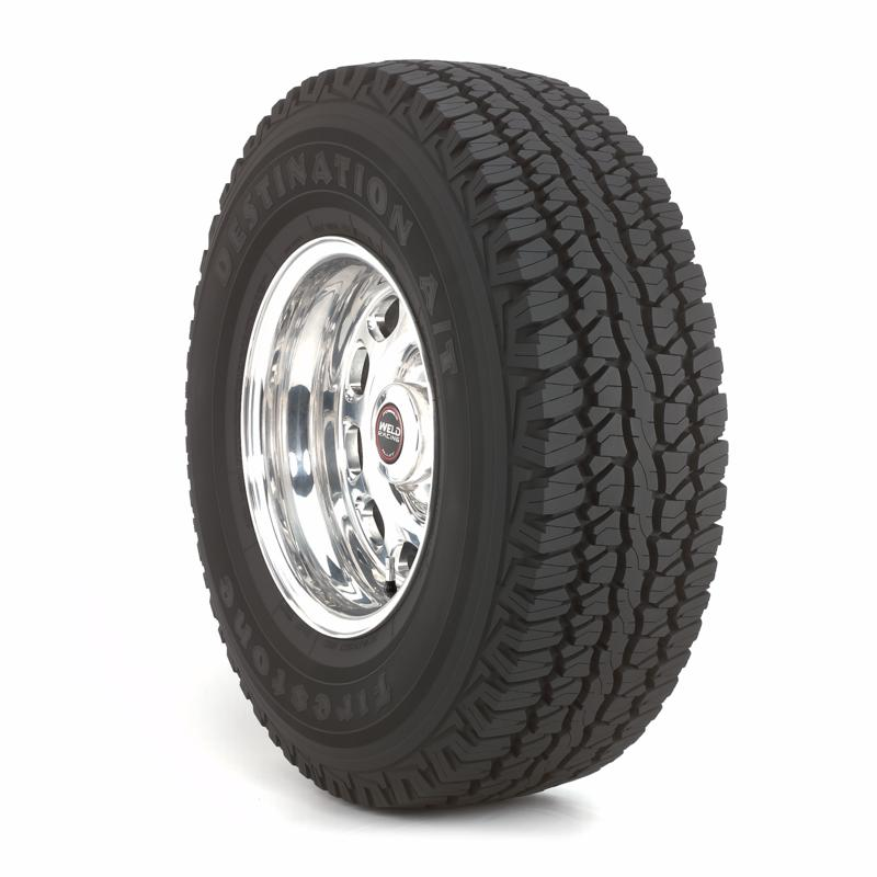 Firestone Destination A/T P235/75R17 tires