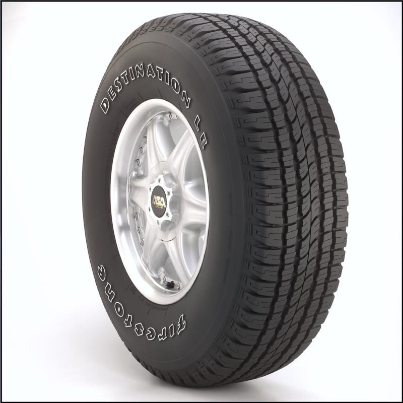 Firestone Destination LE 225/65R17 tires