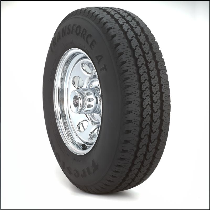 Firestone Transforce AT LT225/75R17/10 tires