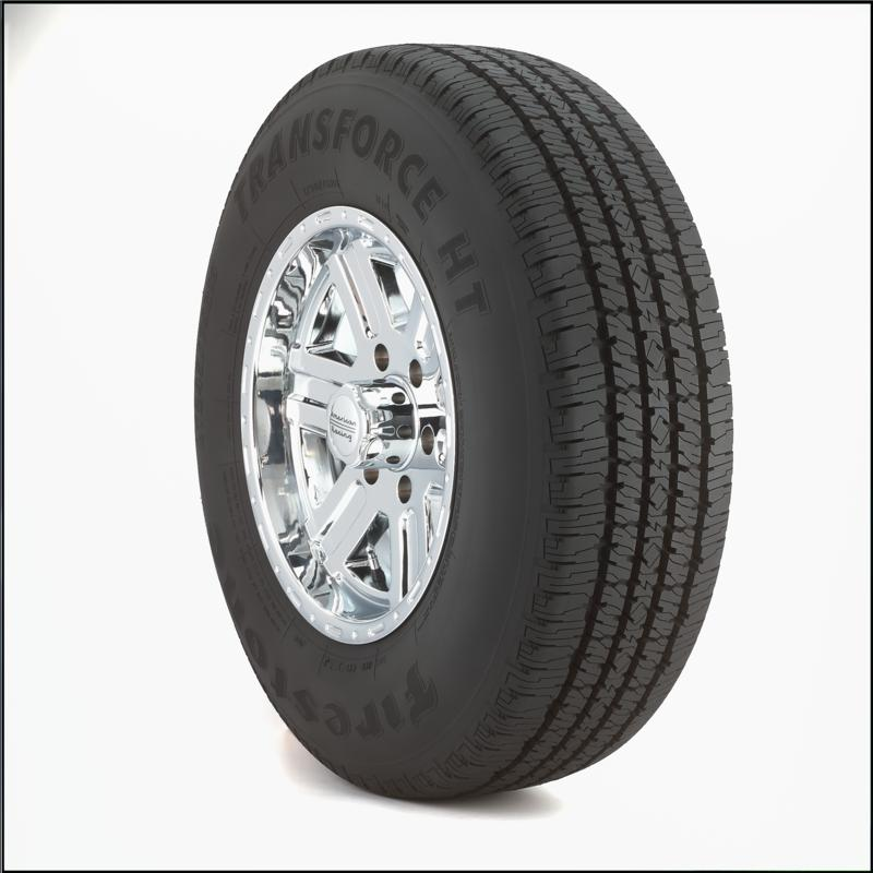 Firestone Transforce HT LT225/75R17/10 tires