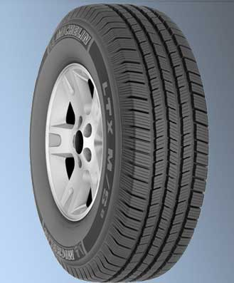 Michelin LTX M/S2 LT265/70R17/10 tires