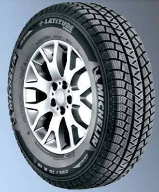 Michelin Latitude Alpin 225/70R16 tires