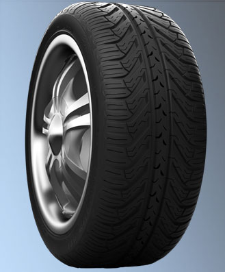 Michelin Pilot Sport AS Plus 235/40ZR18 tires