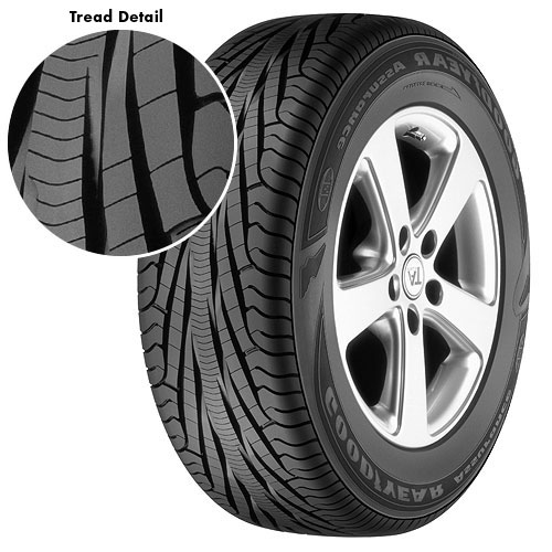 goodyear assurance tripletred 215 60r17 sl tires prices. Black Bedroom Furniture Sets. Home Design Ideas