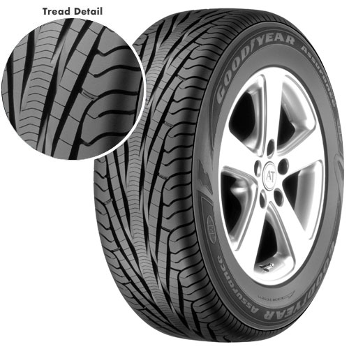goodyear assurance tripletred 205 60r16 sl tires prices tirefu. Black Bedroom Furniture Sets. Home Design Ideas